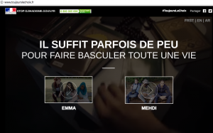 site gouvernement anti djihad interactif